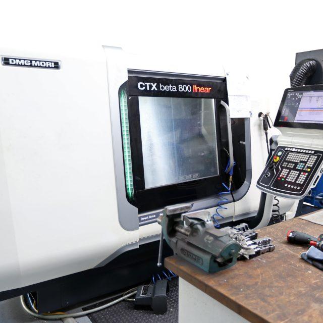 Gildemeister CTX beta 800 CNC-Drehbank