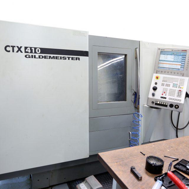 Gildemeister CTX410 V4 CNC-Drehbank